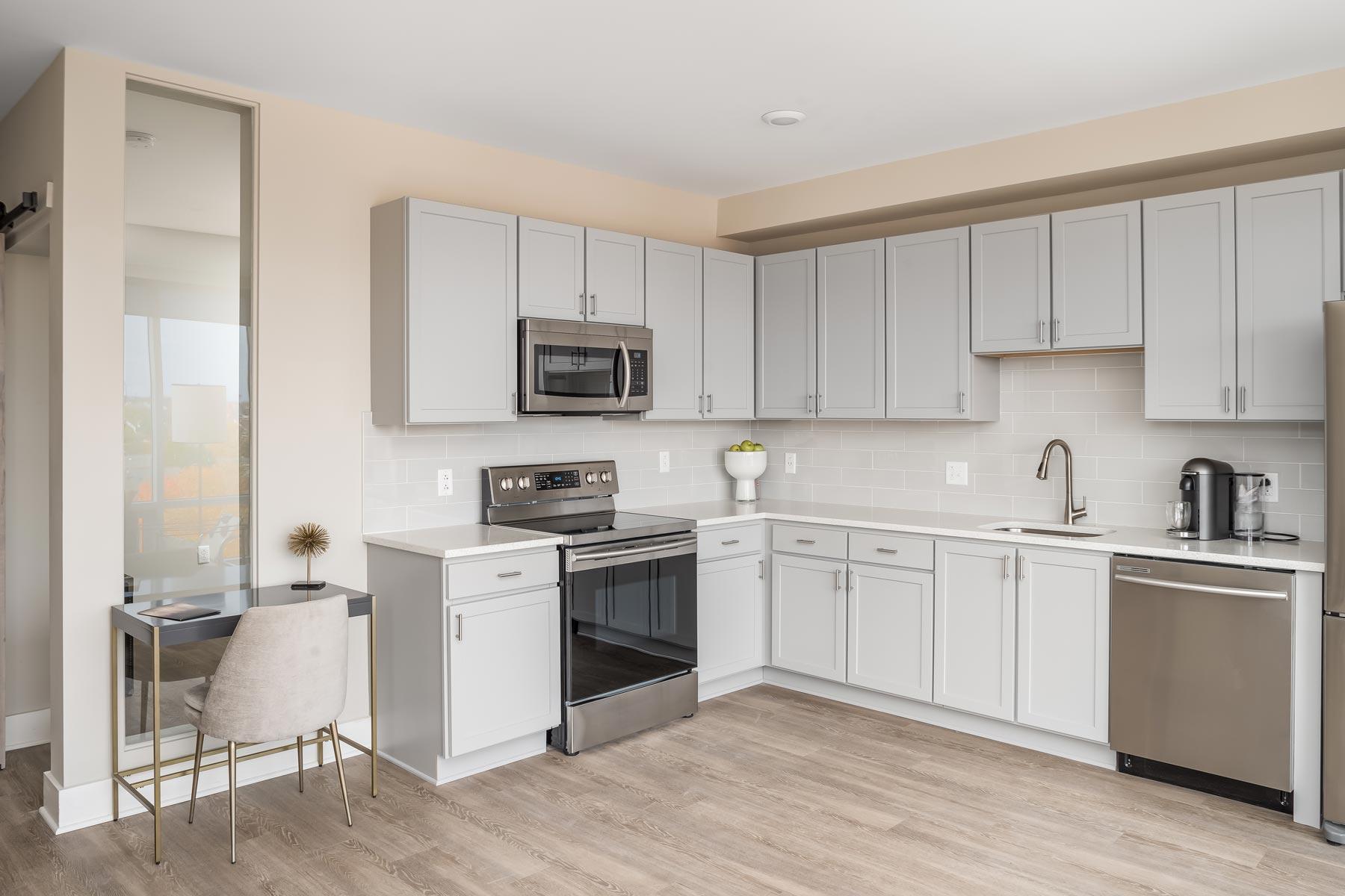 Valencia apartment kitchen